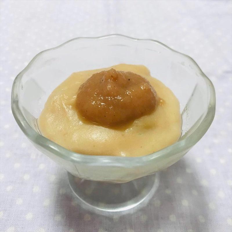 【離乳食中期】ベビースムージーで作るフルーツ豆乳ゼリー