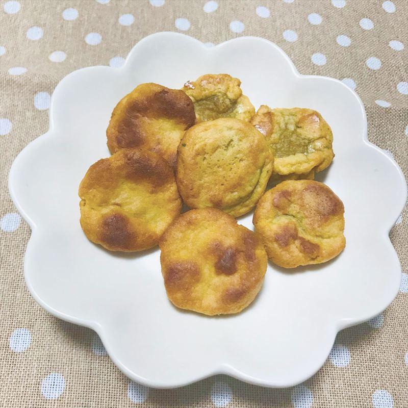 【離乳食後期】おやきミックスで作る プチパン
