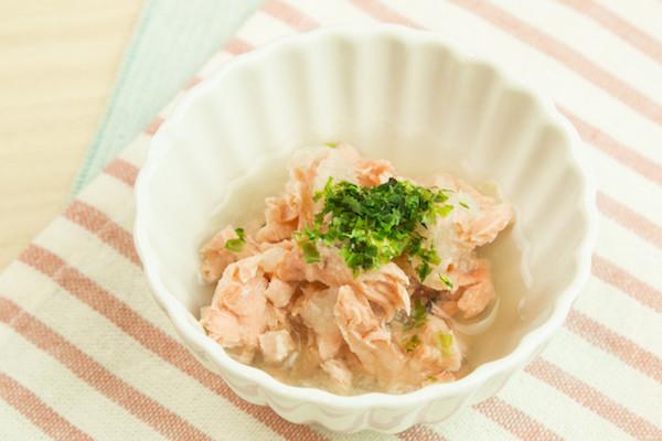【離乳食】鮭のおろし煮