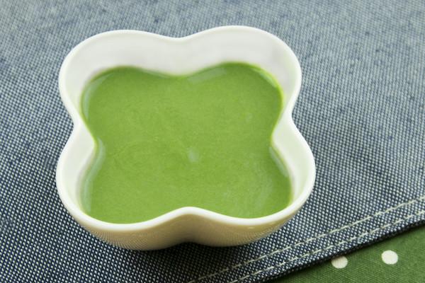【離乳食】豆腐とほうれん草のポタージュ
