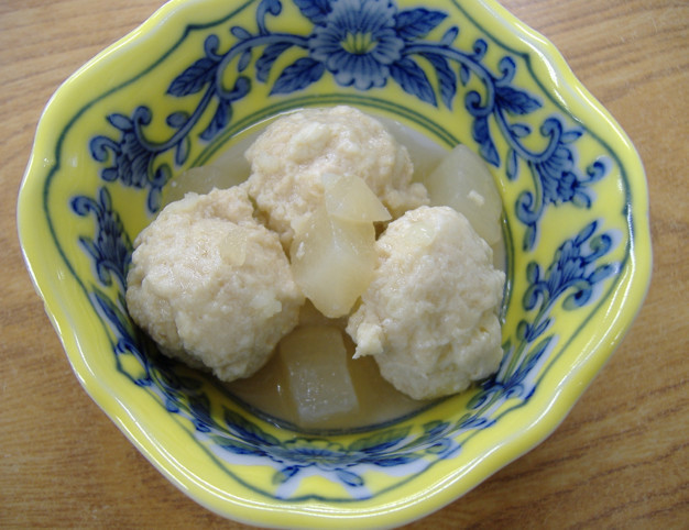 【離乳食】鶏団子と冬瓜のとろりスープ