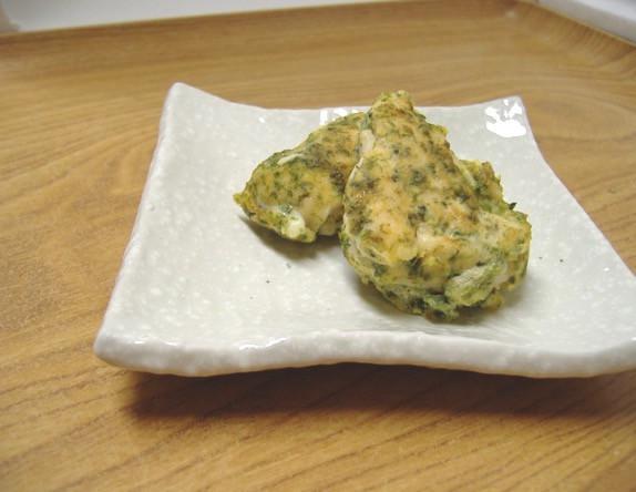 【離乳食】鶏肉ののり風味ピカタ