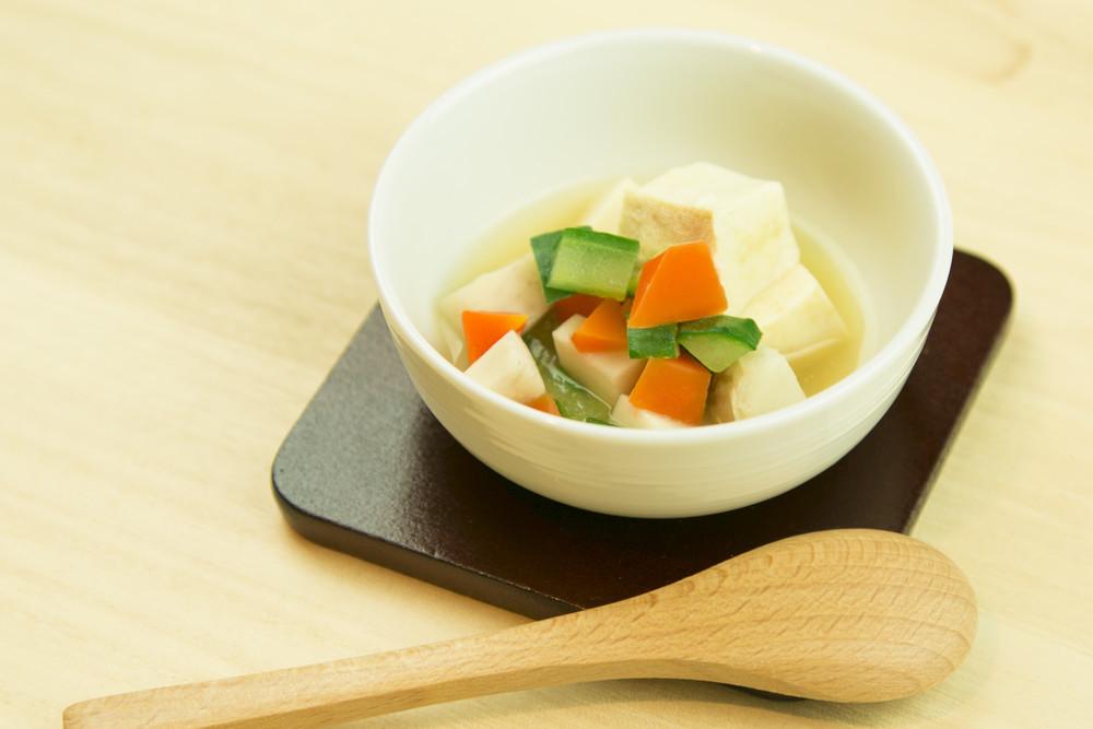 【離乳食9〜11カ月】里芋と野菜の煮物