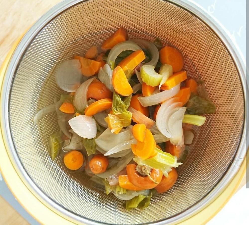 【離乳食完了期】野菜だし