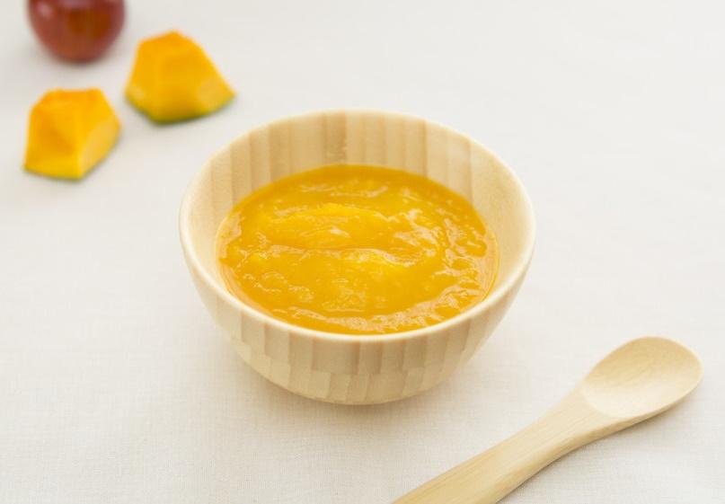 【離乳食初期】かぼちゃと玉ねぎトロトロ煮