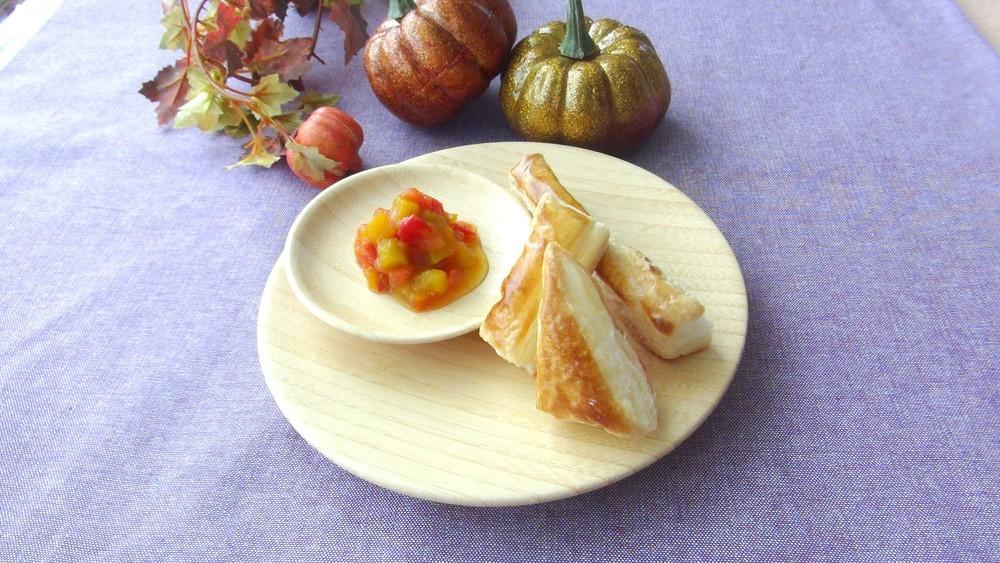 [離乳食完了期]かぼちゃトマトのプチパイ