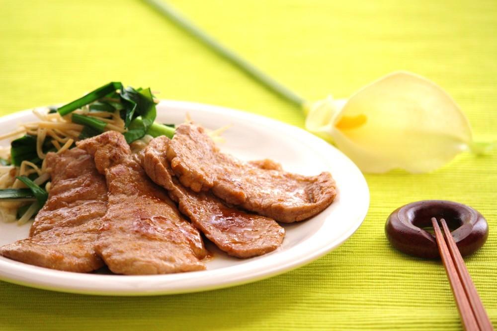 豚ヒレの生姜焼き
