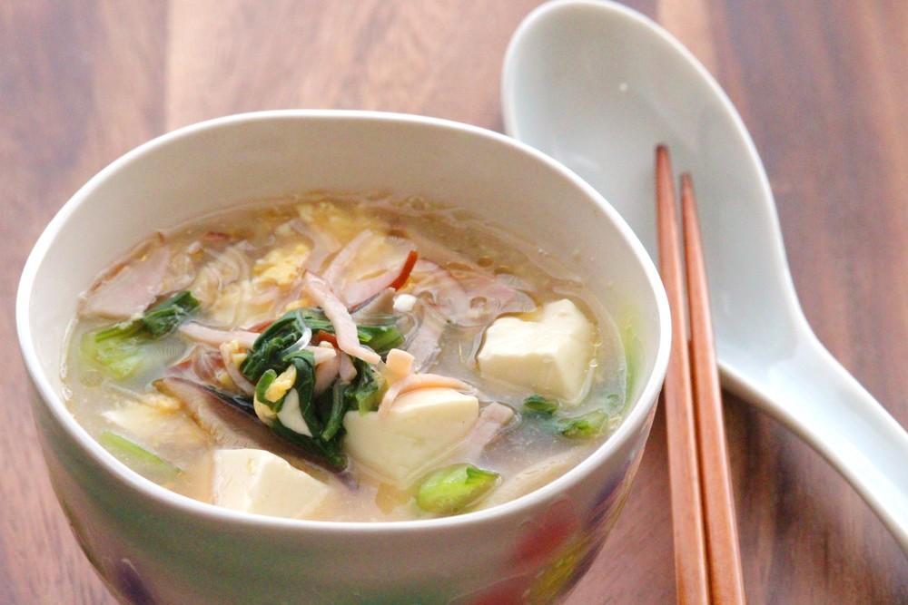 春雨入り具沢山中華スープ