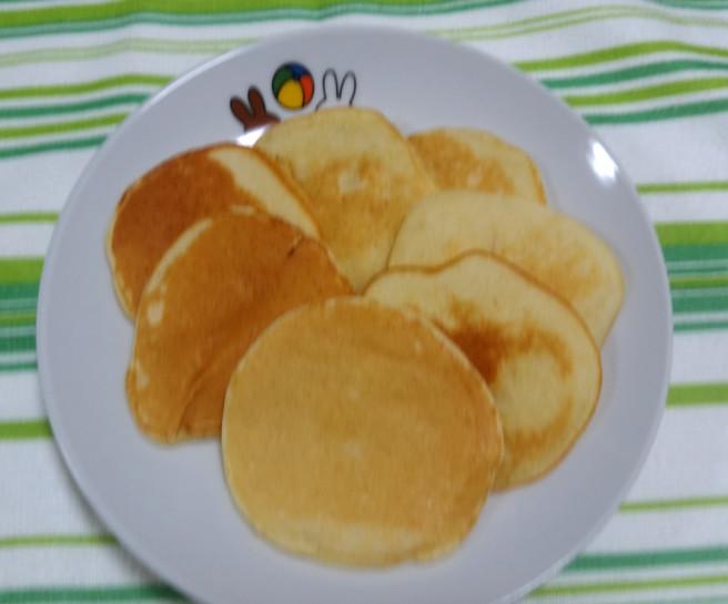 【離乳食完了期】コーンパンケーキ