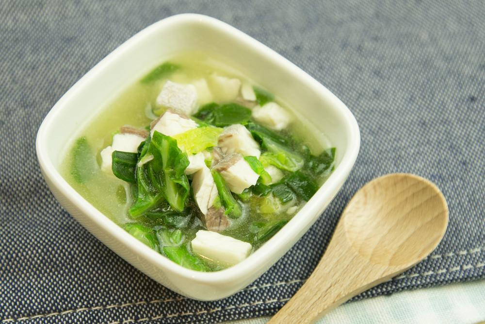 【離乳食】カンパチのとろとろ白菜煮