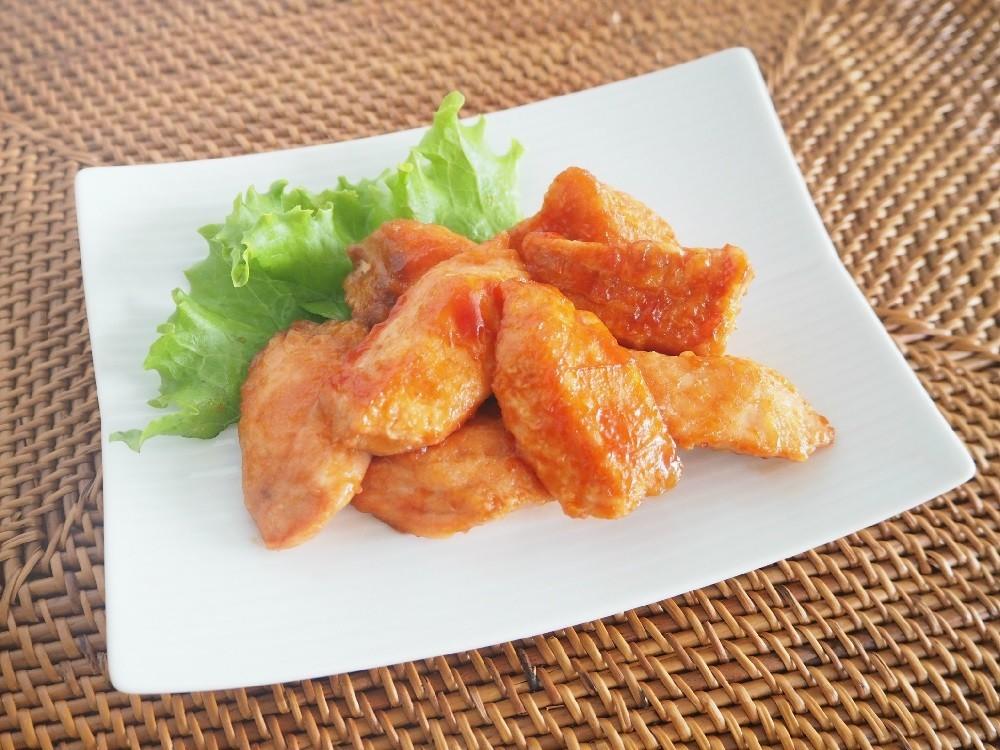 【離乳食完了期】鮭のケチャップ焼き
