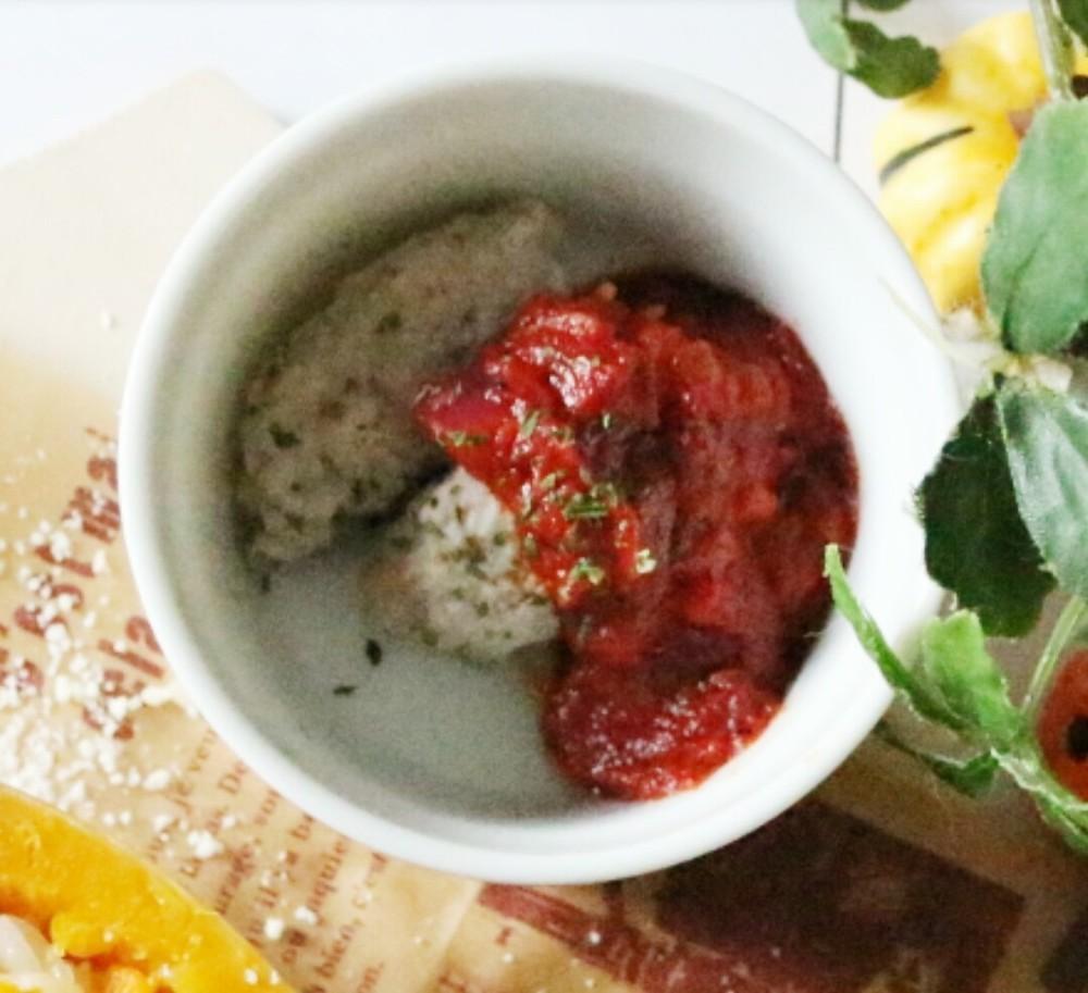 【離乳食完了期】さんまトマトソース
