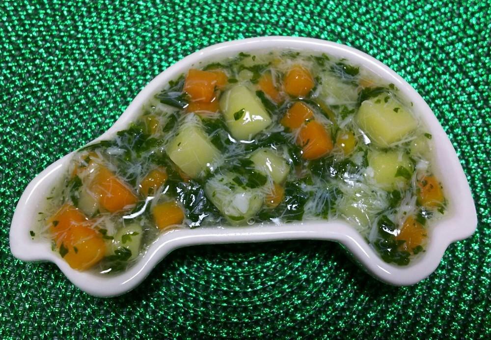 【離乳食後期】白身魚と野菜のとろとろ煮