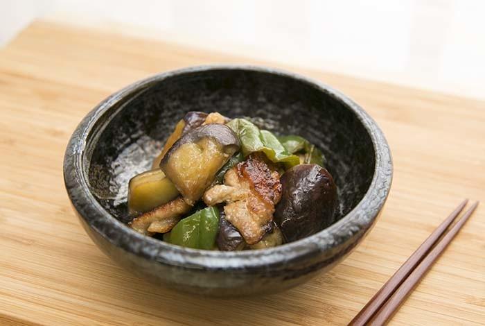 豚肉と夏野菜の揚げ浸し